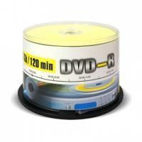 Диск DVD-R Mirex 4.7 Gb, 16x, Cake Box (50), (50/300)