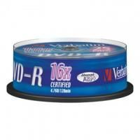 Диск DVD-R Verbatim 4.7 Gb, 16x, Cake Box (25), (25/200)